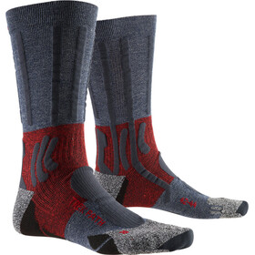 X-Socks Trek Path Sokken Heren, midnight blue/dark ruby
